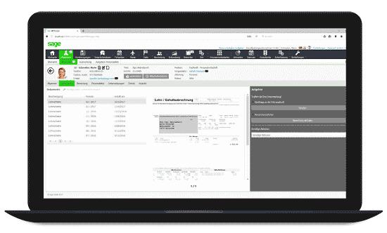Sage HR Suite | Mitarbeiterportal - digitale Personalakte