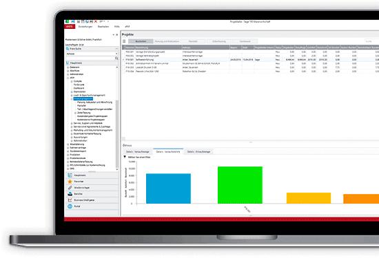Sage 100 xRM | Projektmanagement